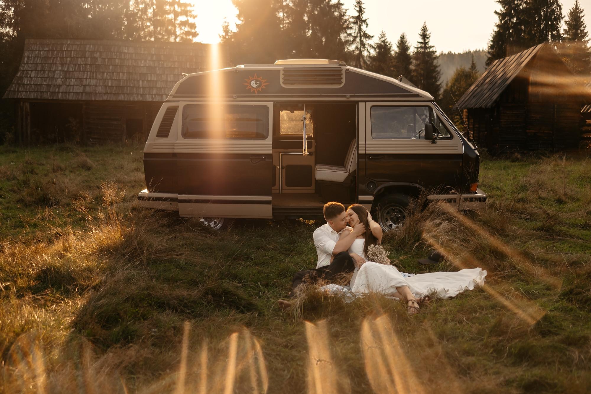 fotograf bochnia ślubny zdjęcia ślubne panorama wiśnicz