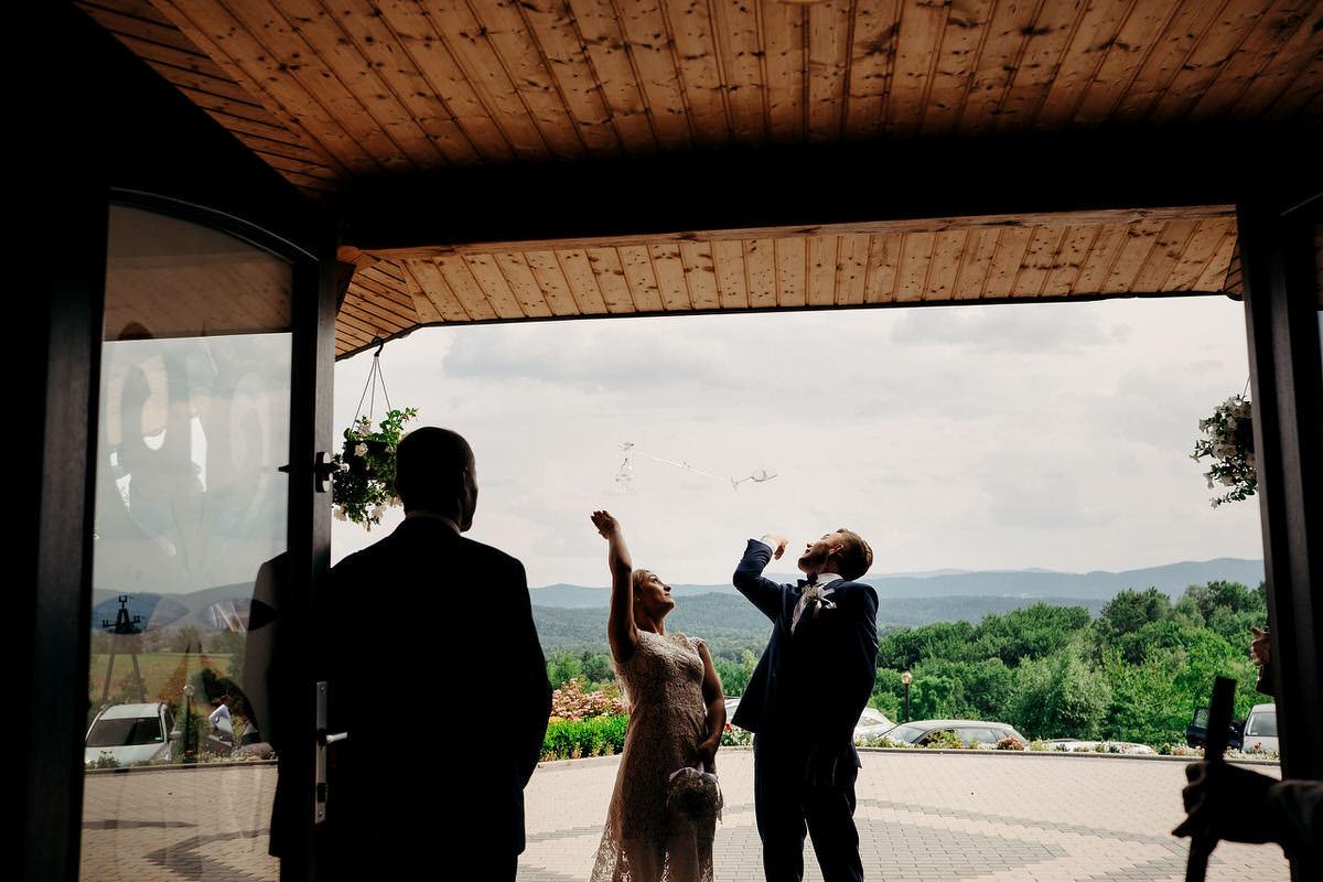 Kasia & Bartek wesele restauracja Wiwenda 33