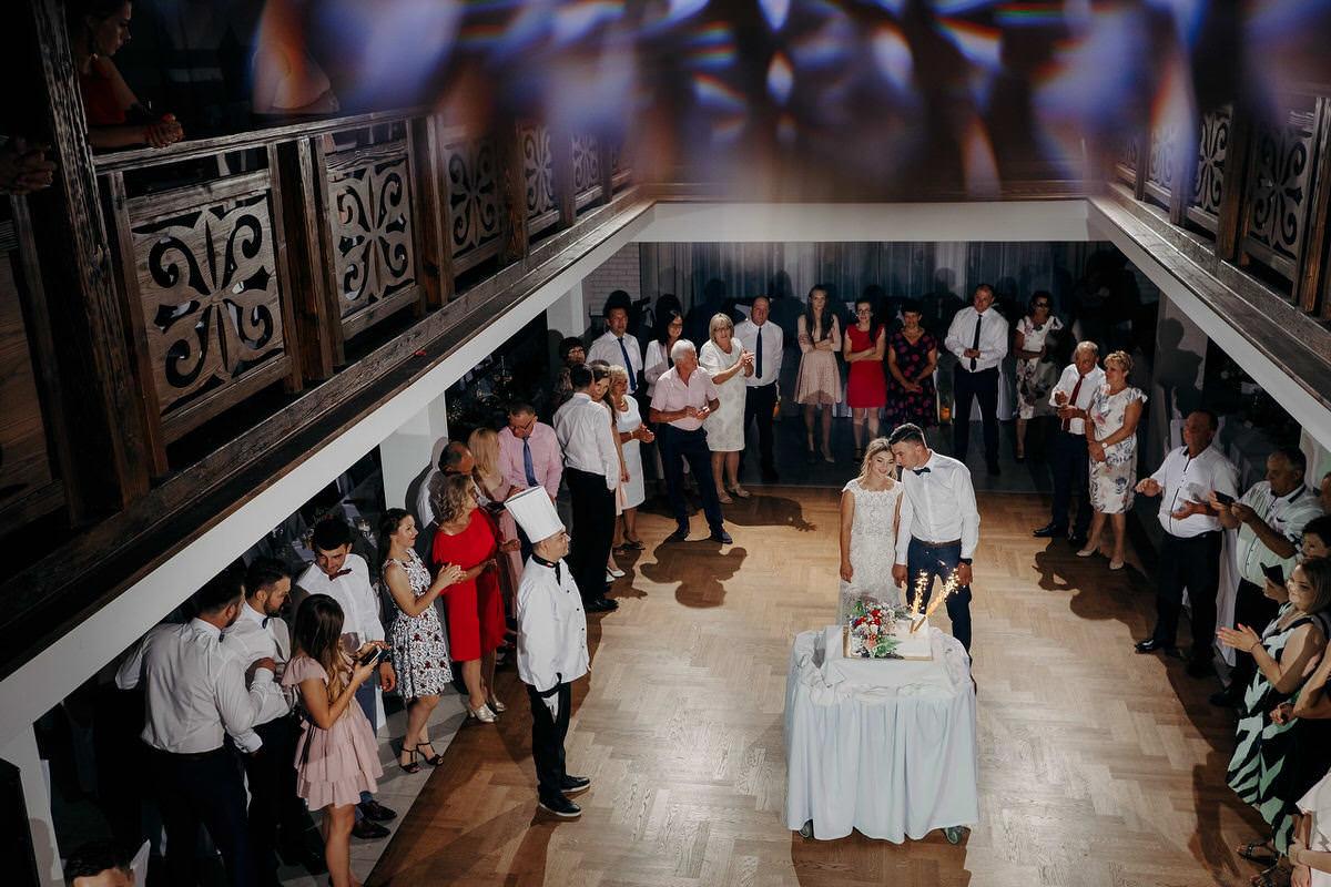 Kasia & Bartek wesele restauracja Wiwenda 44
