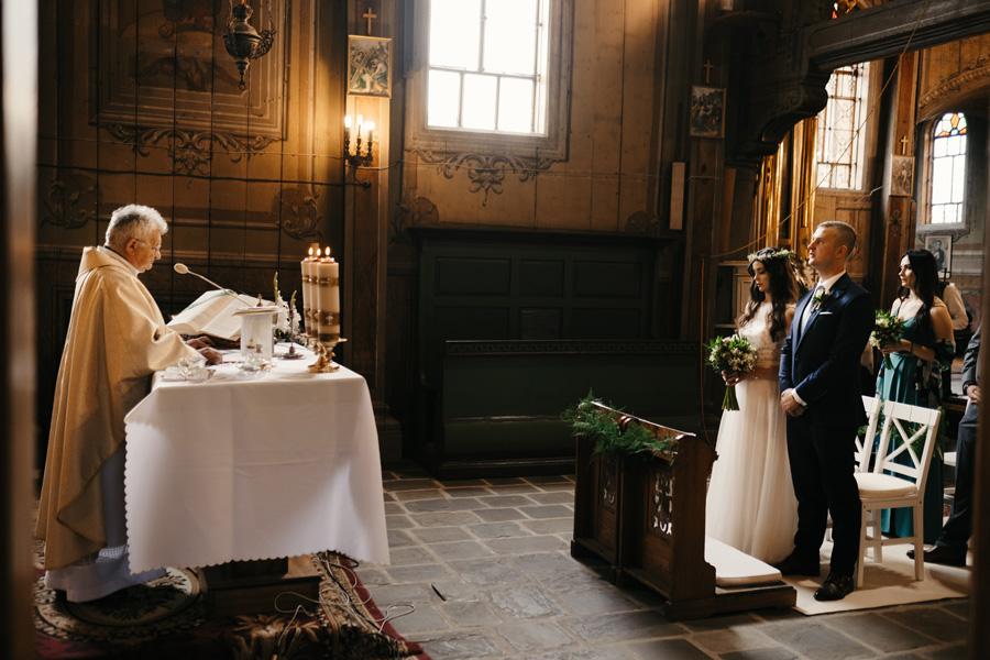 kościół św Bartłomieja Łapanów ślub