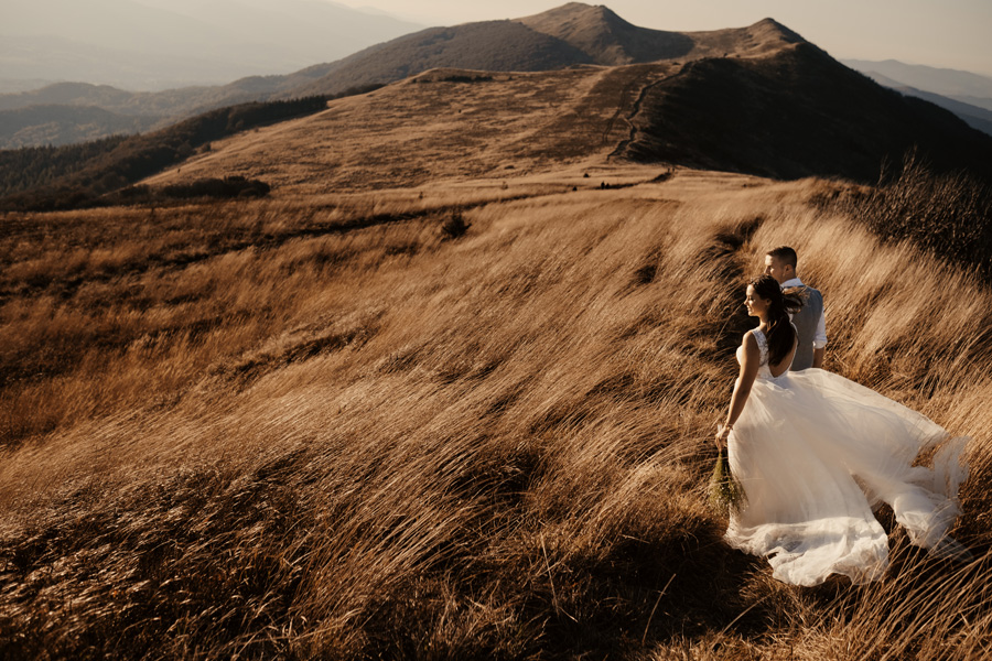 Bieszczady plener ślubny